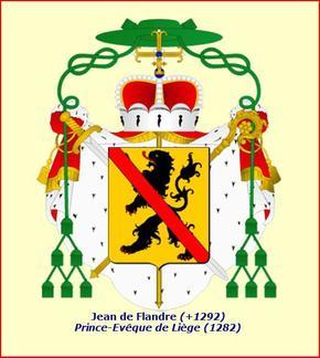 Jean de Flandre (1282-1292) et l'esterlin (Dgs 502, Chestret 207) atelier de Huy