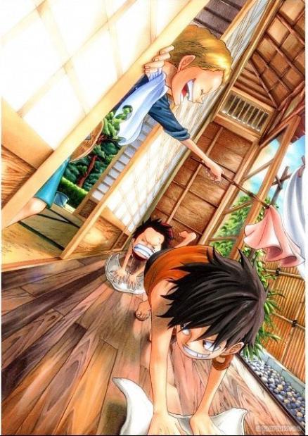 One Piece :  La mort d'Ace