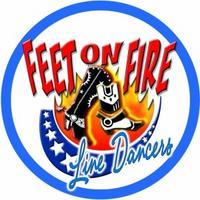 Feet on Fire Line Dancers