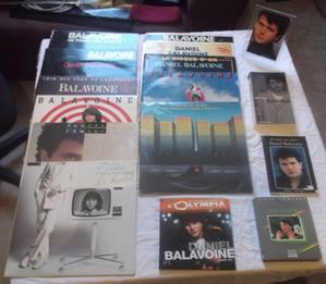 Ma collection personnelle Balavoine