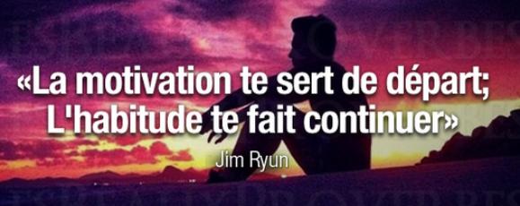 «Si tu fais qu'une seule fois ce que les autres disent que tu es incapable de faire, tu ne porteras plus attention à leurs limitations» – James R. Cook