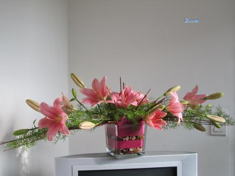lys en parall le art floral bleuette010. Black Bedroom Furniture Sets. Home Design Ideas