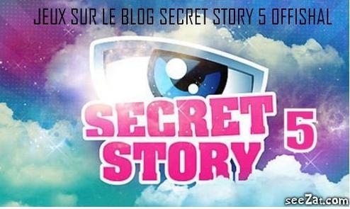 Jeu Secret Story 5