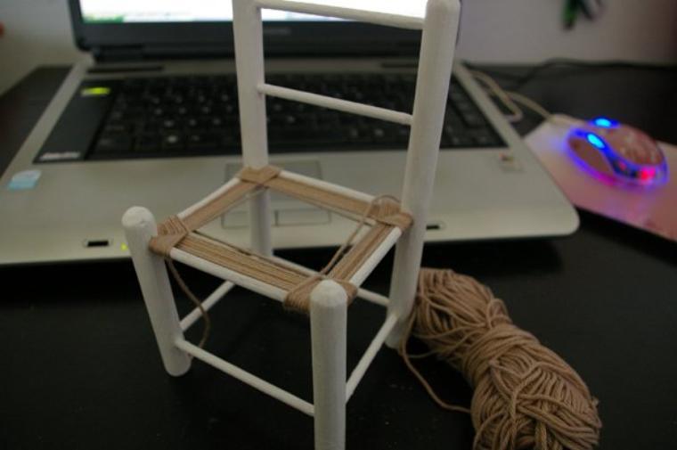 Comment faire une chaise de pullip mon monde ma pullip 3 - Comment peindre une chaise en bois ...