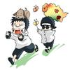 Kiba, Akamaru, Shino et ses insectes !