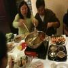 fondue chinoise dans le resto chinois