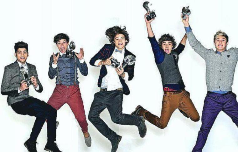 Ce n'est pas un groupe, mais ce sont nos boys (l).