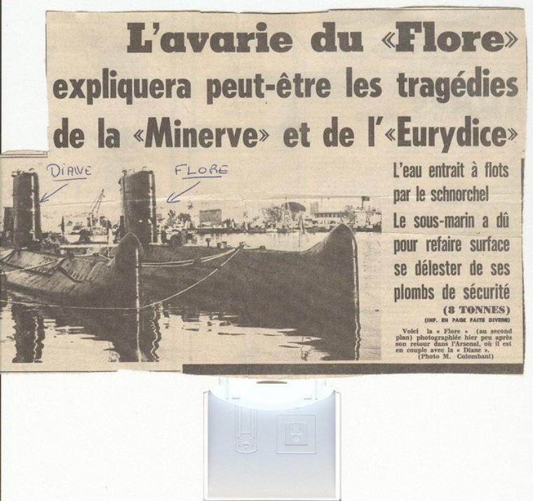 ACCIDENTS DE SOUS-MARINS ENTRE 1905 ET 2000