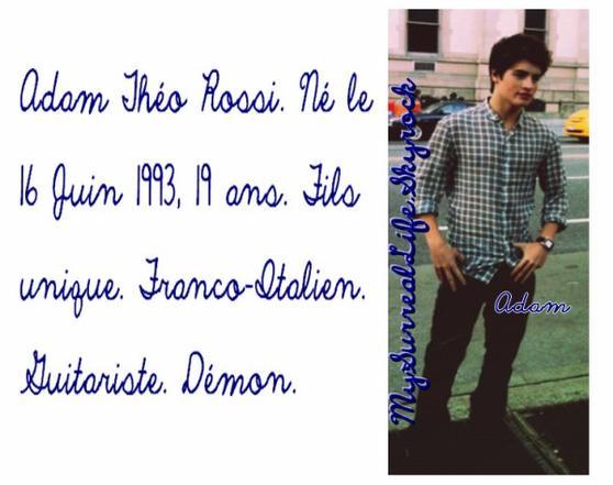 Personnages en plus des One Direction.