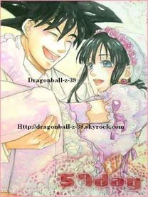 Chichi et SanGoku <33