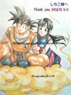 Chichi et SanGoku <333