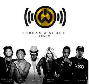 Scream And Shout: Le remix