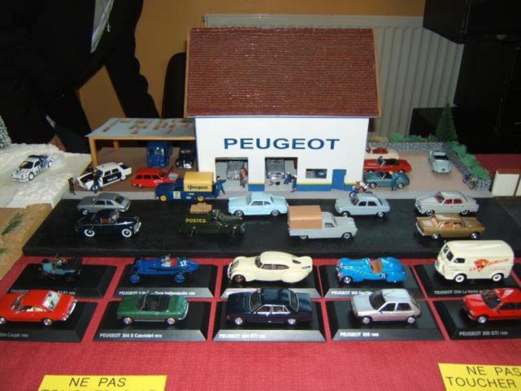Articles de dioramas 1 43 tagg s garage peugeot page 2 for Garage peugeot gonneville sur honfleur