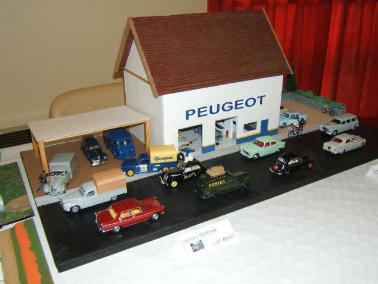 Articles de dioramas 1 43 tagg s garage peugeot page 2 for Garage peugeot avon 77