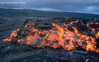Magma et lave (géologie)