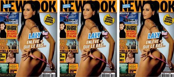 En couverture du magazine NEW LOOK ce mois-ci