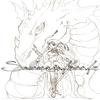 Sam la guerrière et son dragon (personnage inventé par moi-même)