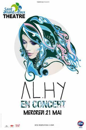 Al.Hy en concert! Paris et Saint-Amand-Les-Eaux (59)!