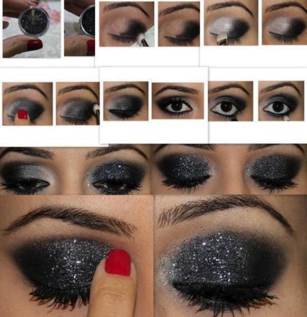 tutorial : maquillage de soirée. - style-toujours .