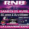 RnB Selecta battle one vs one ( jury ADN, pilou and Seb from Urban move ) La Louviere EXPO