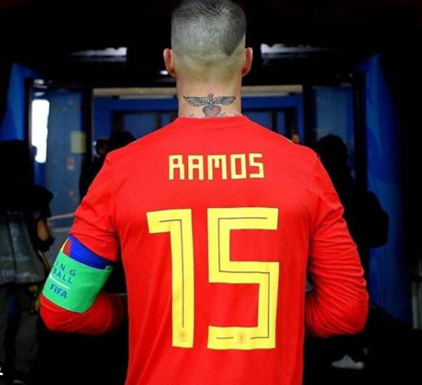 Nouveaux Tatouages (Sergio Ramos)