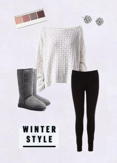 tenue n 7 tenue cosy pour l 39 hiver fashion world dream. Black Bedroom Furniture Sets. Home Design Ideas