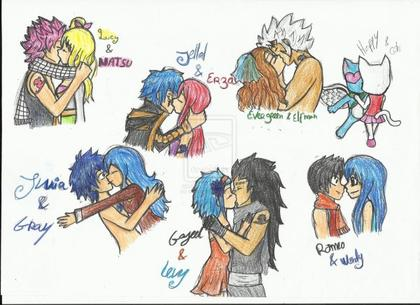 Couples Fairy Tail