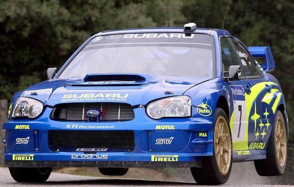 Subaru impreza WRC STI