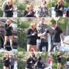 . _____  M_i l e y _____ Cyrus __________________Date : 23/04/10 ________________ Candid___ .. _________ » MILIAM, LIAMILEY (?) ALLANT A UN RDV. __ Candid :  Comme vous l'avez lu ci dessus, Miley et son Cher petit ami Liam, ce sont rendus à un Meeting à CBS , je ne sait pas si c'était de l'anxiété ou de l'excitation mais Miley faisait de bien jolies mimiques ..., à croire que sa boisson était trop fraiche à son goût . Haaa les gencives sensibles un des Maux les plus terribles de notre société actuelle...Bon d'acord je me suis un peu évadée mais en la voyant comme ça, c'est la seule pensée qui me traverse l'esprit.Tenue Basique,à la Miley.On kiffe..