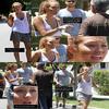 . Miley Cyrus perdant son sang froid durant un conflit avec un automobiliste lors de son passage à Toluca Lake. .