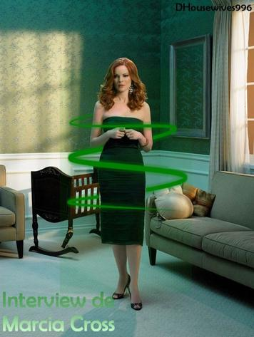 Interview Marcia Cross : Desperate Housewives, c'est fini !