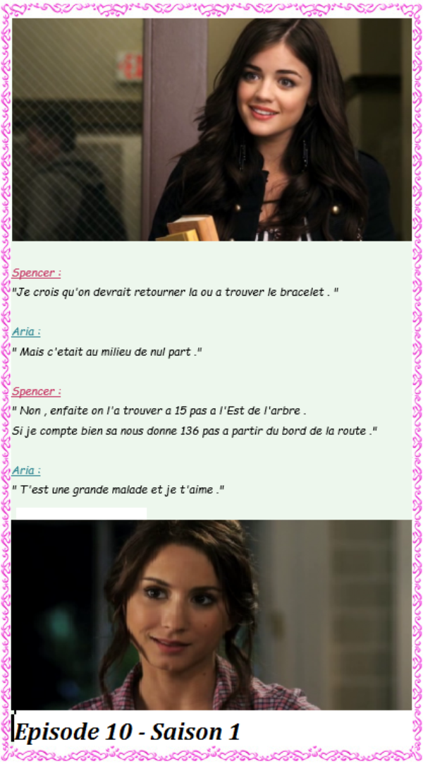 Citation de la série Pretty Little Liars