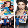 -                       Couverture de Seventeen Juin 2010 + Ashley au siège du magazine à New York, avec toute l'équipe.                 -