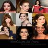 Anne Hathaway de 1999 à 2010 !  Fais avec hathaway-web