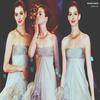 """.  Pour le tapis rouge du film """"Kym"""", en 2009, Anne portait une belle robe, au lieu Versace .  ."""
