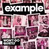 Won't Go Quietly  / Example - Won't Go Quietly (Radio Edit) (2010)
