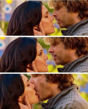 I want to be bold, Deeks. But I want to be bold with you.