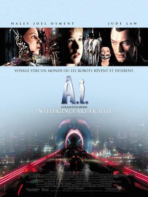 ➽ A.I, INTELLIGENCE ARTIFICIELLE | ★★★★★ |