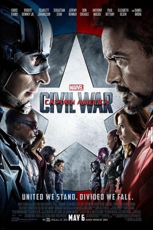 ➽ CAPTAIN AMERICA : CIVIL WAR | ★★★★★