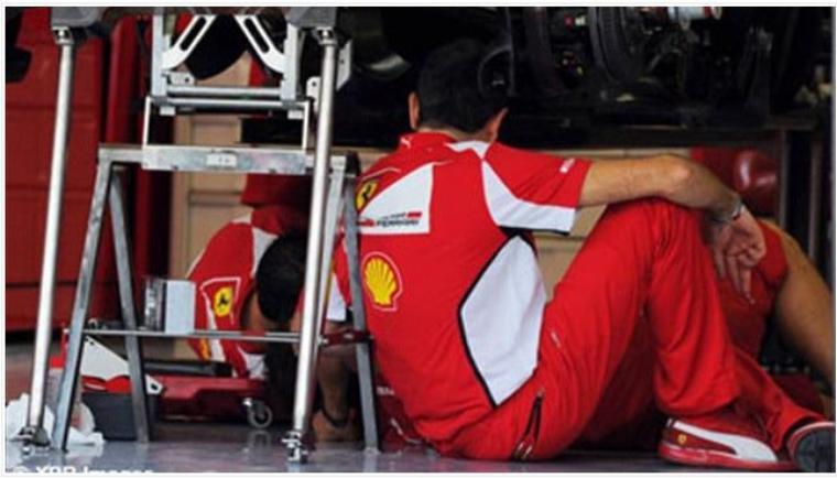 Ferrari a enfreint le couvre-feu