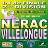 1/4 de finale, dimanche 9 mai 2010 à 15h00