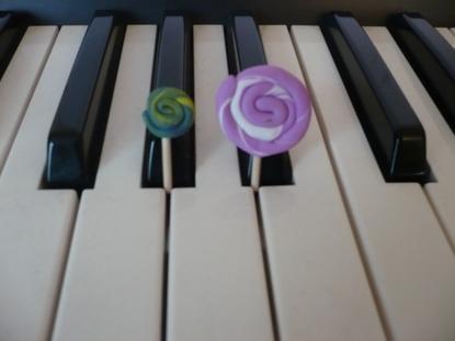Sucettes, lollipops