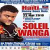 ROI SOLEIL WANGA DEPART POUR KINSHASA/ PREPARATION DU CONCERT LIVE LE 22 MAI 2010 AU STADE DE ROSNY (93) FRANCE