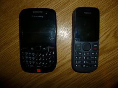 Nokia 100 -----> BalckBerry Curve comment dire sa change quoi !!!