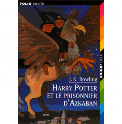 Harry Potter et le Prisonnier d'Azkaban (3ème tome)