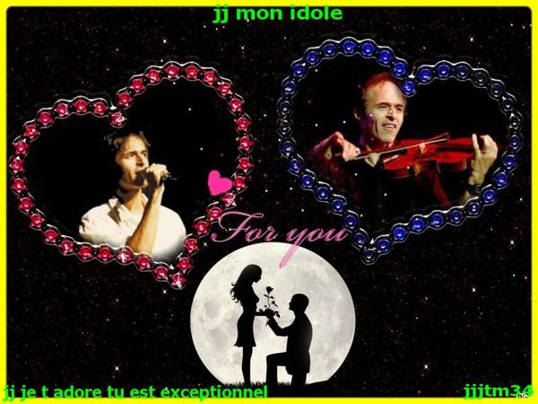 ♥♥  MONTAGE EST PHOTO DE JJ ♥♥
