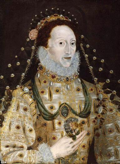 L'étrange peinture de la reine Elisabeth Ier d'Angleterre