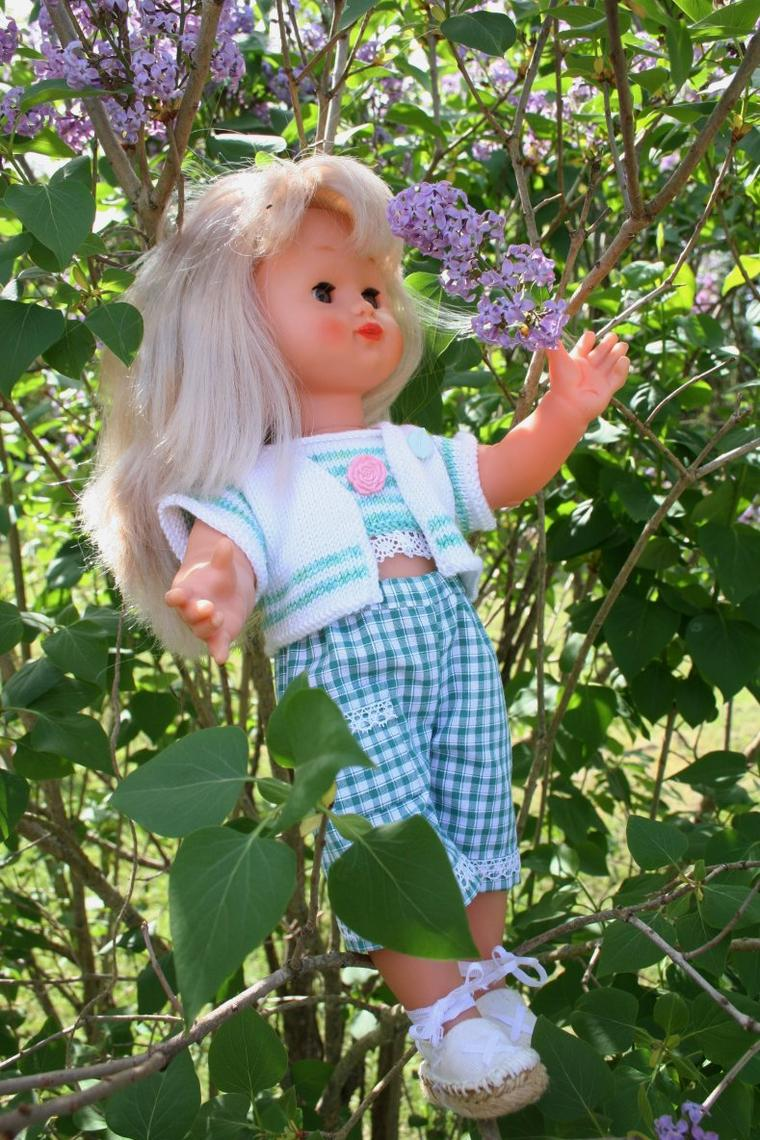 Emilie à la saison des lilas