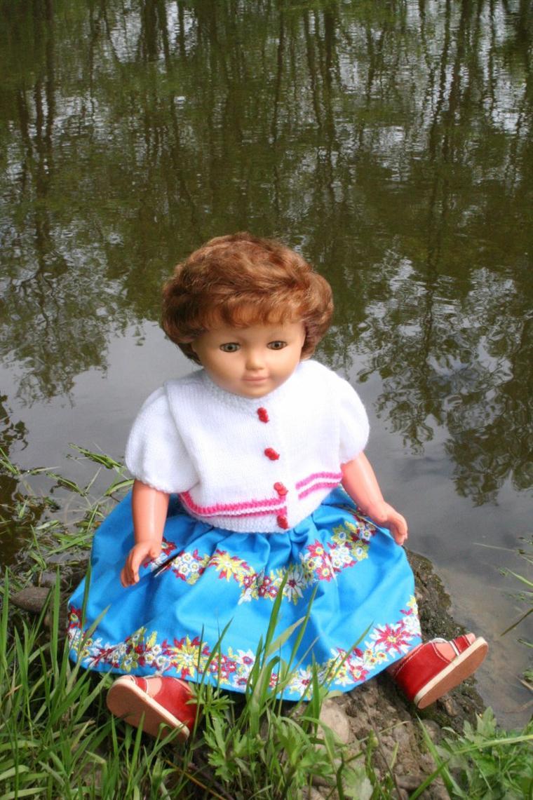 Promenade au bord de l'étang