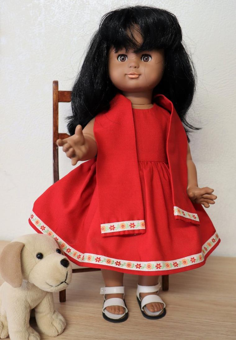 N'est-elle pas jolie ma petite robe ?